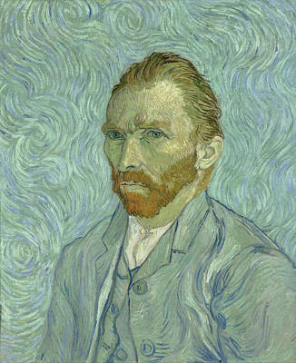 Self Portrait Painting - Self-portrait by Vincent van Gogh