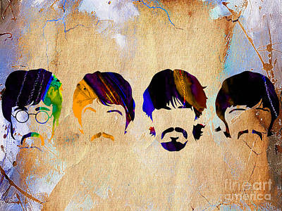The Beatles Collection Art Print