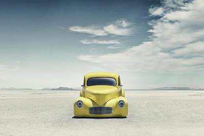 Digital Art - 41 Willys by Douglas Pittman