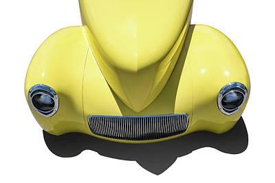 Digital Art - 41 Willys Nose by Douglas Pittman