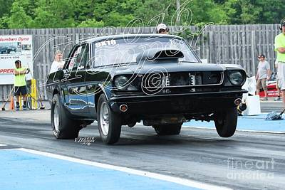 Wall Art - Photograph - 4132 05-29-16 Esta Safety Park Drag Racing by Vicki Hopper
