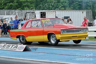 Wall Art - Photograph - 4141 05-29-16 Esta Safety Park Drag Racing by Vicki Hopper