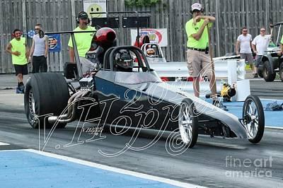 Wall Art - Photograph - 4142 05-29-16 Esta Safety Park Drag Racing by Vicki Hopper