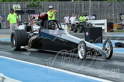 Wall Art - Photograph - 4143 05-29-16 Esta Safety Park Drag Racing by Vicki Hopper