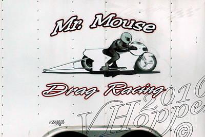 Wall Art - Photograph - 4154 05-29-16 Esta Safety Park Drag Racing by Vicki Hopper