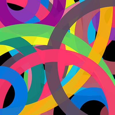 Drawing - 4181 - Phi Word Circle by REVAD David Riley