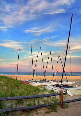 Photograph - 41st Street Beach In Ocean City Nj by Carolyn Derstine