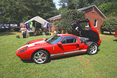 Photograph - Ford Gt 1 by Joseph C Hinson Photography
