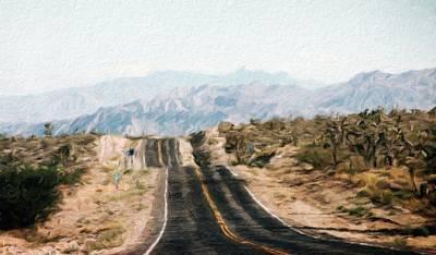 Bob Ross Painting - Landscape Nature Pictures by Margaret J Rocha