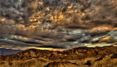 Sky Digital Art - Landscapes Prints by Landscape Art