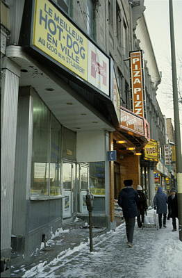 Montreal Restaurants Photograph - Montreal by Pierre Roussel