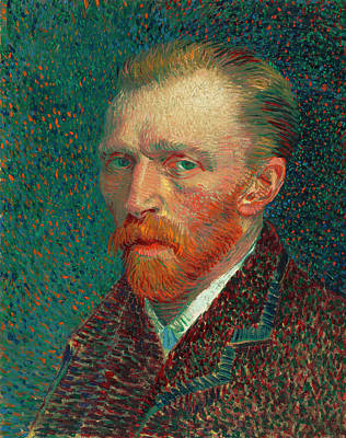 Lonesome Painting - Self-portrait by Vincent Van Gogh