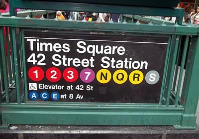 42 Street Station Nyc Art Print