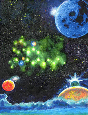 Painting - 420 Space by Charles Bickel