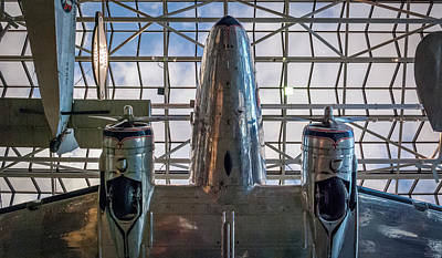 4242- Air And Space Museum  Art Print by David Lange