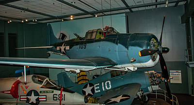 4254- Air And Space Museum Art Print by David Lange