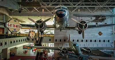 4267- Air And Space Museum  Art Print by David Lange