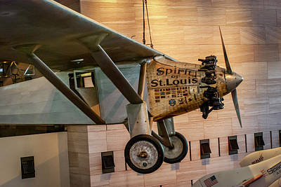 4273- Air And Space Museum  Art Print by David Lange