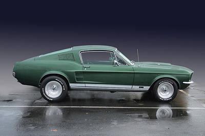 Photograph - 428 Gt Mustang by Bill Dutting