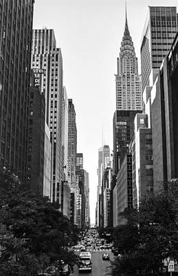 Photograph - 42nd St View by Andrew Kazmierski