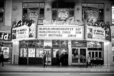 Photograph - 42nd Street Blues Club by John Rizzuto