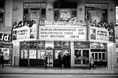 Photograph - 42nd Street Blues Club by John Rizzuto