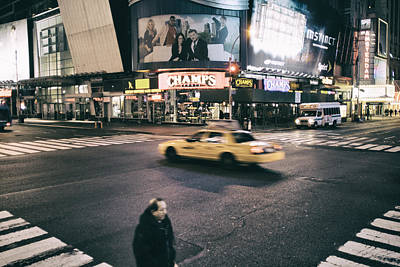 Photograph - 42nd Street Color by Dave Beckerman