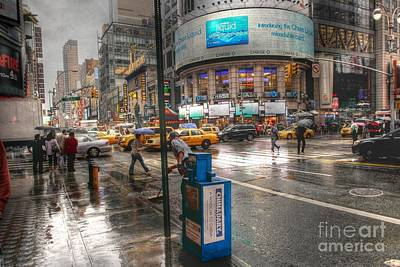 Herald Photograph - 42nd Street by David Bearden