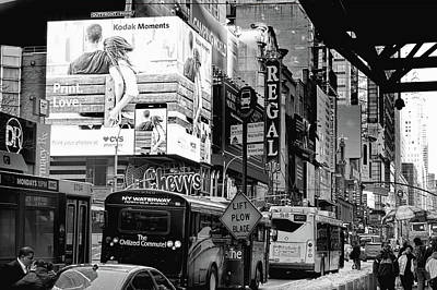 Photograph - 42nd Street Nyc by Kevin Duke