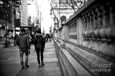 Photograph - 42nd Street Walk by John Rizzuto