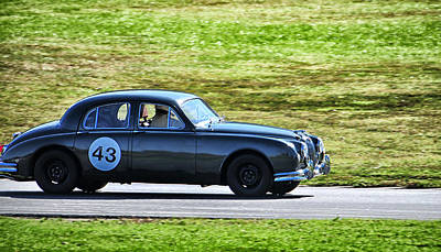 Photograph - 43 A Very Old Jaguar by Mike Martin
