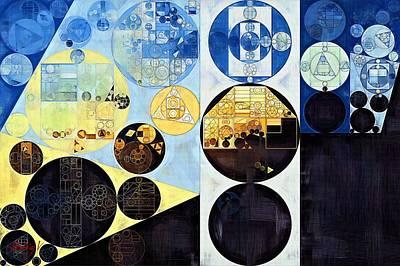 Celeste Digital Art - Abstract Painting - Onyx by Vitaliy Gladkiy