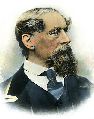 Photograph - Charles Dickens, 1812-1870 by Granger