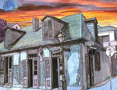Creole Painting - 43 by John Boles