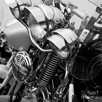 Photograph - Motorcycle by Avril Christophe
