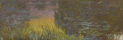 Painting - Water Lilies by Claude Monet