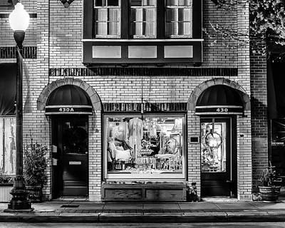 Franklin Tennessee Photograph - Franklin, Tennessee - 430 Main Street by David Tutterrow
