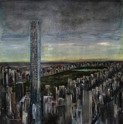 Tate Gallery Painting - 432 Park Ave by Antonio Ortiz