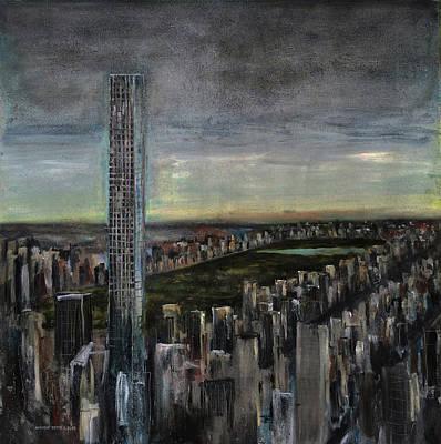 Larry David Painting - 432 Park Ave by Antonio Ortiz