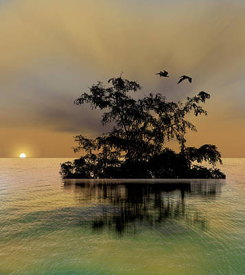 Print featuring the photograph 4374 by Peter Holme III