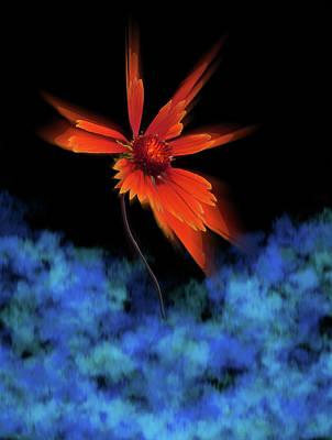 Print featuring the photograph 4383 by Peter Holme III