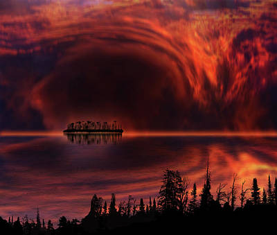 Print featuring the photograph 4385 by Peter Holme III