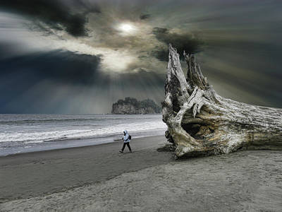 Print featuring the photograph 4392 by Peter Holme III