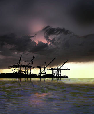 Print featuring the photograph 4396 by Peter Holme III