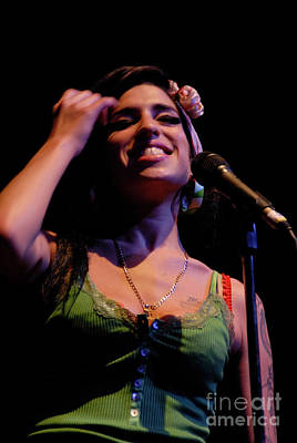 Photograph - Amy Winehouse Photo 1 by Jenny Potter
