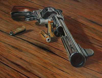 44 Magnum  Art Print by Stacy Crane