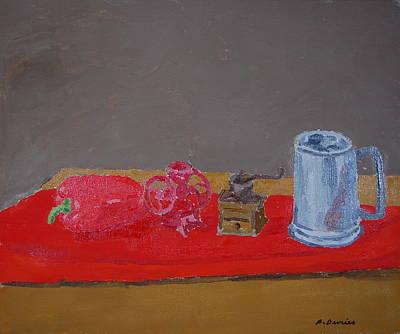 Still Life With Beer Stein, 2014 Original
