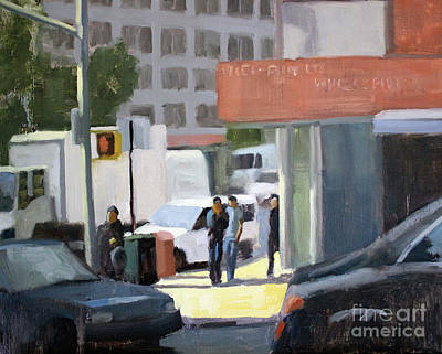 Painting - 44th And 4th by Tate Hamilton