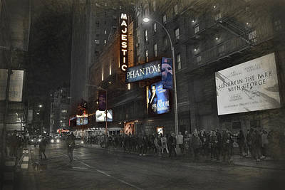 Photograph - 44th Street Nyc by Dyle Warren