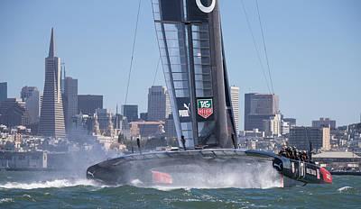Sausalito Photograph - America's Cup San Francisco by Steven Lapkin